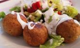 Schnelle vegane Falafel