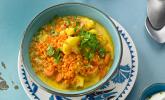 Blumenkohl-Möhren-Curry mit roten Linsen