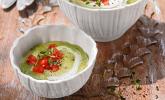 Ibu's kalte Zucchini-Joghurt-Suppe