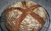 Dinkel-Roggen-Sauerteig-Brot à la Mäusle