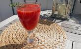 Feurige Melonen-Tomaten-Kaltschale