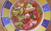 Gemüsesuppe oder auch Wundersuppe