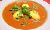 Geröstete Tomaten-Paprika-Suppe