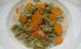 Grüne Bohnen-Möhren Suppe