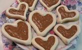 Herz-Choco-Plätzchen