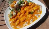 Indisches Chicken-Mango-Curry