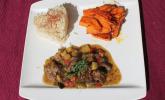 Japanisches Curry mit Rindfleisch