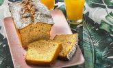 Karibisches Bananenbrot oder Bananenkuchen