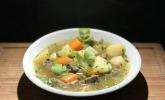 Kartoffel-Rindfleisch-Suppe