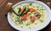 Kartoffel-Spargelcreme-Suppe