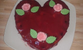 Kirsch-Herzkuchen