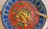 krümeltigers kalte Tomaten-Paprika-Suppe
