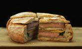 Riesen Steak-Sandwich
