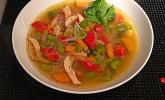 Scharfe Fitness-Suppe