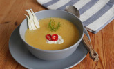 Scharfe Möhren-Fenchel-Suppe