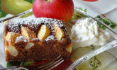 Schoko-Apfel-Kuchen vom Blech