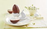 Dessert: Osterdessert serviert im Ü-Ei
