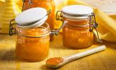 Aprikosen-Mango-Konfitüre mit Ingwer