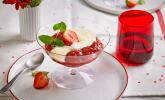 Dessert: Erdbeer-Rhabarber-Kompott