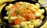 Gnocchi mit Rahm-Möhren