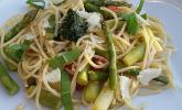 Spaghetti mit Spargel und Bärlauch