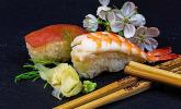 Sushi Maki und Nigiri