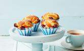 Fruchtige Marzipan-Muffins