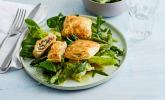 Platz 40: Blätterteigtäschchen mit Spargel-Prosciutto-Mascarpone-Füllung