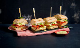 Caprese Bacon Ciabatta Sandwich