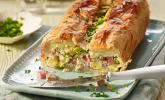 Platz 48: Spargel-Blätterteig Pastete