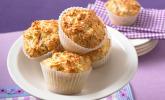 Herzhafte Schinken-Käse-Muffins