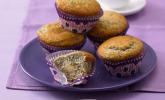 Mohn-Marzipan-Muffins