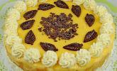 Apfeltorte mit Pudding - Eierlikör - Guss