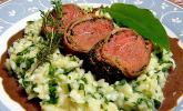 Bacon - Lamm mit Bärlauchrisotto