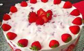 Erdbeer-Sekt-Torte