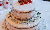 Erdbeer-Thymian-Buttercremetorte