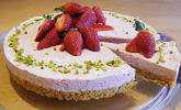 Erdbeer-Torte mit Knusperboden