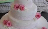 Hochzeitstorte (Buttercreme)