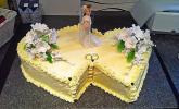 Hochzeitstorte - Biskuit-Buttercreme-Torte