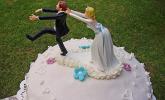 Hochzeitstorte, englischer Weddin Cake