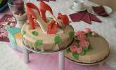 Hochzeitstorte mit Schokocreme und Erdbeeren - ohne Backen