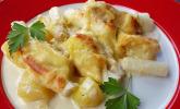 Platz 34: Kartoffelauflauf mit Spargel