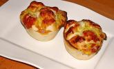 Lachs - Blätterteig - Muffins