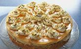 Pistazien-Pfirsichcreme-Torte