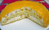 Schmand-Sahne-Torte à la Mathias mit Mandarinen