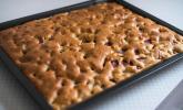 Schneller Erdbeer-Rhabarberkuchen
