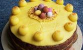 Simnel Cake aus Großbritannien