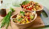 Couscous-Salat, lecker würzig