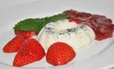 Erdbeer-Rhabarber-Grütze
