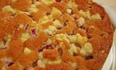 Erdbeer-Rharbarber-Streuselkuchen